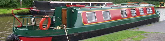 Cruiser Stern Narrowboat