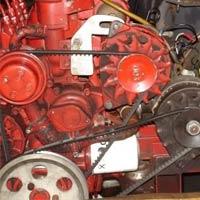 narrowboat maintenance - the engine compartment