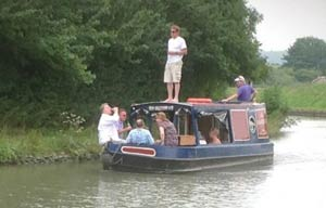 Day Boat Hire on the Canal
